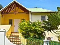 LA SOURCE VILLA... charming, affordable family villa by great beach!