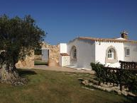 Charming Sardinian Villa Overlooking the Sea and Walking Distance to Town