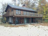 Shaded Lake Michigan Retreat, Private Frontage