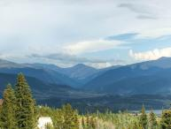 2 BR/2 BA Condo, mountain chic with spectacular views for 6
