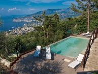 Villa Davide, infinity pool, seaview, jacuzzi, terrace