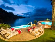 14-Acre Beachfront Estate, Chef & Butler, 2 Private Beaches, Sailboat/Kayaks & Water Toys, Tennis