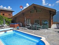 4 bedroom Villa in La Tzoumaz, Valais, Switzerland : ref 2296575