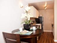STUNNING FURNISHED 1 BEDROOM 1 BATHROOM APARTMENT