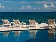 Vacation villa rental with ocean views