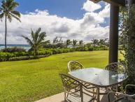 Kaha Lani #121, Oceanfront, Steps to Beach, Sunrise Views from Private Lanai