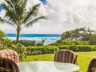 Kaha Lani Resort #119, Oceanfront, Steps to Beach, Free Wifi & Parking