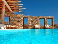 Mykonos -  Gv - The Sunkissed Villa with infinity pool and 5 bedrooms