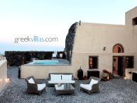 Santorini - The Winegrowers Mansion 2 with pool  overlooking the vineyards & quaint village has 3 be