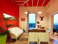 Casa Sirene holiday vacation casa apartment rental italy, sicily, trapani, center of town, air conditioning, near beach, short term