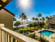 Kapaa Shore Resort #324, Ocean View, Washer/Dryer, Great Location and Views!