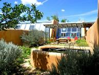 """John Shaw's Earthship & Guest House """"green architecture"""""""