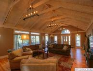 3BR Cabin, Big View of Grandfather Mountain, Flat Screen TVs, Wireless Internet, Gas and Wood Fireplace, Close to Banner Elk
