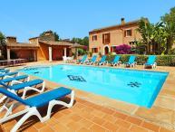 5 bedroom Villa in Calonge, Cala Dor, Mallorca : ref 2091372