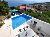 House with pool for rent, Sutivan, island of Brac