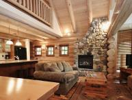 Fernie Snow Creek Cabins 3 Bedroom Log Cabin