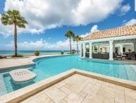 Luxury 6 bedroom St. Martin villa. Contemporary Beachfront with gorgeous sunsets!