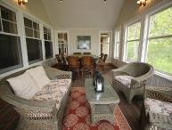 WATERFRONT VINEYARD CONTEMPORARY HOME LOCATED ON TISBURY GREAT POND