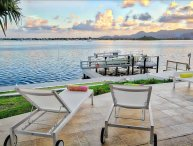 5 bedroom villa with private boat dock
