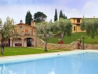 6 bedroom Villa in Lucignano, Val D orcia, Tuscany, Italy : ref 2385798