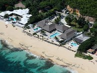 5 bedroom beachfront estate on Baie Rouge