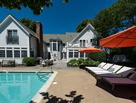 YASED - STUNNING EDGARTOWN VILLAGE LUXURY COMPOUND, HEATED POOL BORDERED BY