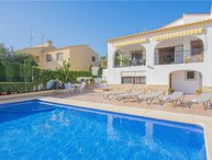 4 bedroom Villa in Calpe, Costa Blanca, Spain : ref 2301705