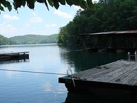 Sleeping Bear Cabin - Lake Front with Private Dock