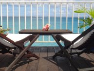 Beachfront Condo in Grand Case - Close to the Caribbean's best restaurants!