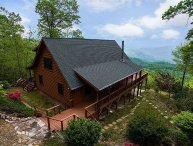 Cool View Cabin - Mountain Views & Hot Tub  - Cleaning fee incl. in rate!
