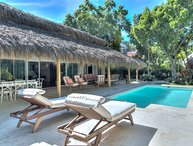 Comfortable 4 Bedroom Family Vacation Villa in Gated Punta Cana Resort & Club