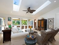 Private, Luxury Home Near Tunnels Beach!  Ideally located in Haena.