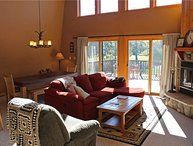 Located at Base of Powderhorn Mtn in the Western Upper Peninsula, Vacation Home with All Glass Front Windows & Gorgeous View of Ski Hill