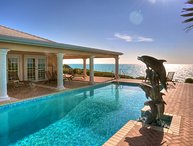 Luxury 9 bedroom Turks and Caicos villa. Beachfront yet private!