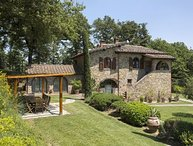 6 bedroom Villa in Campoleone, Val D orcia, Tuscany, Italy : ref 2386424