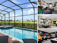 Country Club View | 9159 Caddie Way | 8 Bed Villa with Classic Arcade Theme