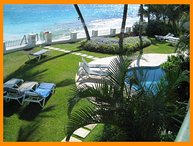 Stunning 2 Bed Beachfront Apartment with Pool