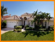 Sophisticated luxury Cape Coral villa- Private boat dock- Private pool- Pet friendly- 5 bedrooms